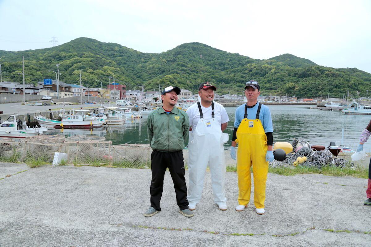 藻場を護る 海の男たち